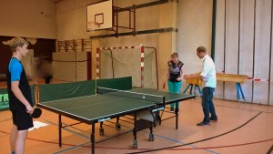 Tischtennis mit Max Kröber